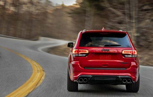 Top 7 súper deportivos más lentos que la Jeep Grand Cherokee Trackhawk