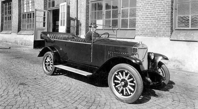 Celebración 90 años del primer Volvo