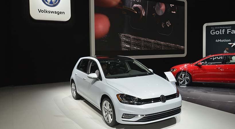 Familia Volkswagen Golf 2018