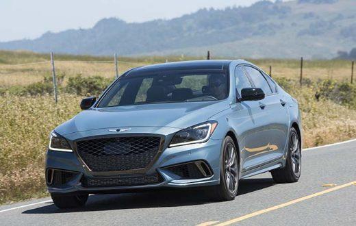 Test Drive Genesis G80 Sport 2018 en Napa Valley