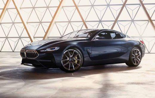 BMW Serie 8 concept car, filtrado antes del Concorso D´Eleganza Villa d'Este