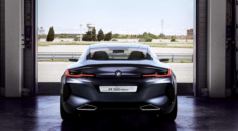 BMW Serie 8 concept car, Concorso D´Eleganza Villa d'Este 2017, BMW coupé, autos nuevos BMW, BMW 8 Series
