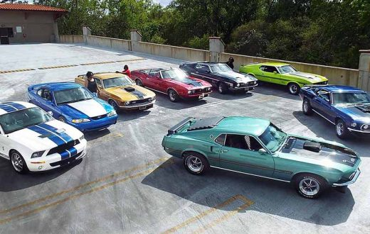 Familia Mustang, Speed family, Ford Mustang, classic Ford Mustang
