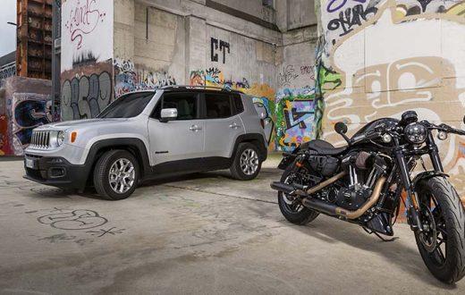 Harley-Davidson y Jeep