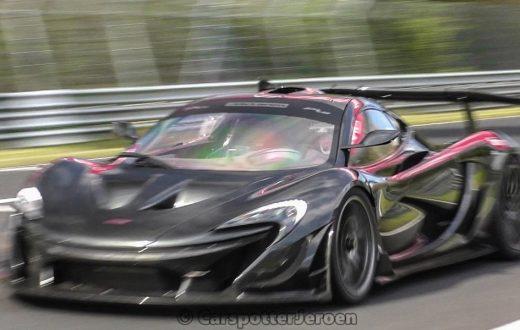 McLaren P1 LM quiere ser rey del Nürburgring