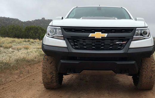 Test Drive off-road Chevrolet Colorado ZR2 2017