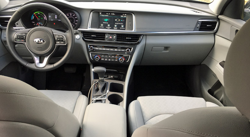 Kia Optima Plug-In Hybrid 2017