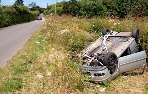 Muerte en el auto