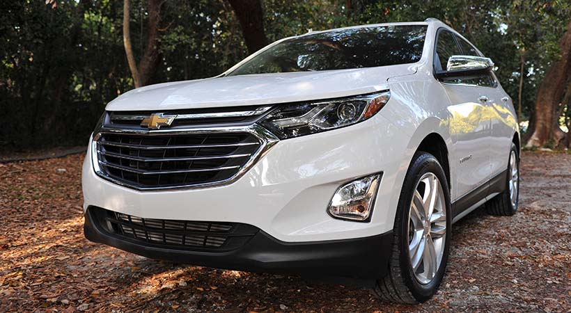 Test Drive Chevrolet Equinox 2017