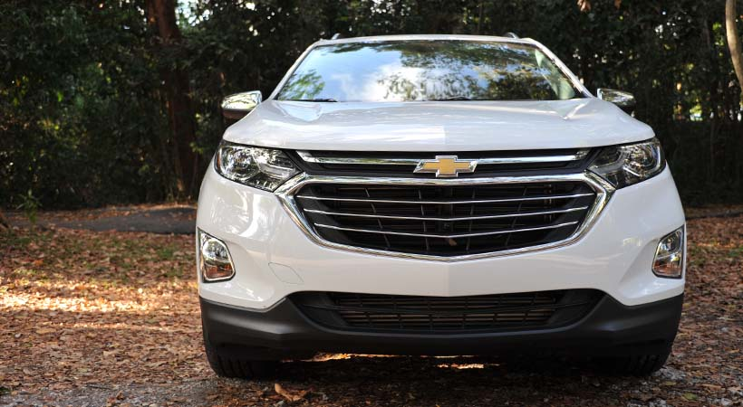Test Drive Chevrolet Equinox 2018