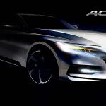 Debut mundial Honda Accord 2018