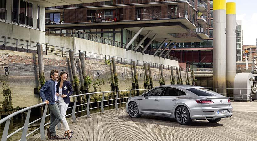 Triple debut Volkswagen Arteon en Hannover, Alemania
