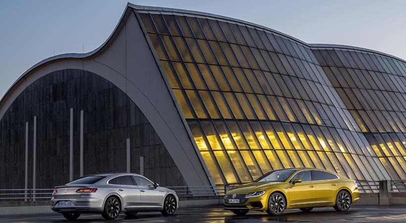 Triple debut Volkswagen Arteon en Hanover, Alemania