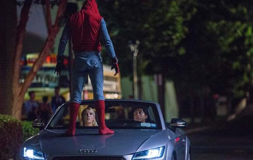 Debut Audi A8 en Spider-Man, dos estrellas en el cine