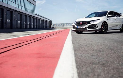 Video Honda Civic Type-R 2017 en el circuito iCar