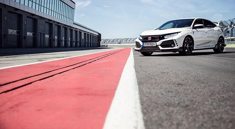 Video Honda Civic Type-R 2017