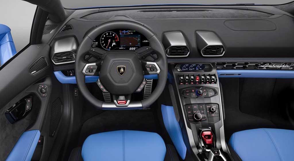 Lamborghini Huracán Spyder LP 610-4 2017, precio, video, prueba de manejo, precio Lamborghini nuevo