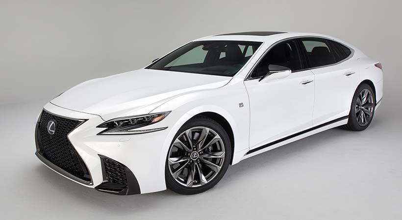 Lexus LS F Sport 2018
