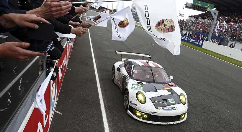 Top 13 increibles numeros de Porsche en Le Mans