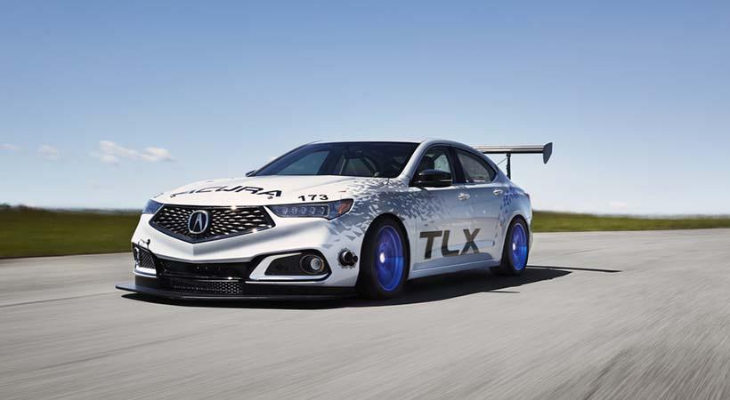 Debut Acura TLX 2018 en la legendaria Broadmoor Pikes Peak