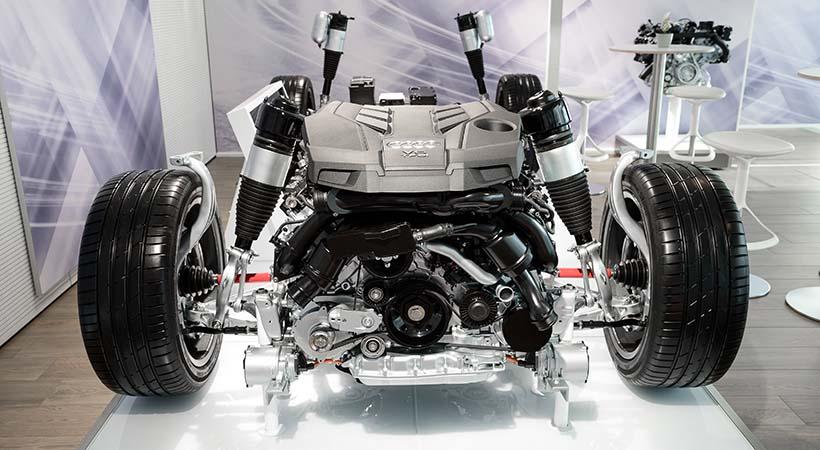 Cómo funciona un motor V de Audi; todo lo que querías saber