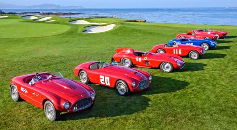 Ferrari 70 Aniversario en Norteamérica