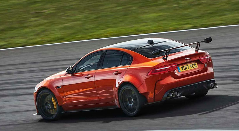 Jaguar XE SV Project 8, el felino más bestial de la historia