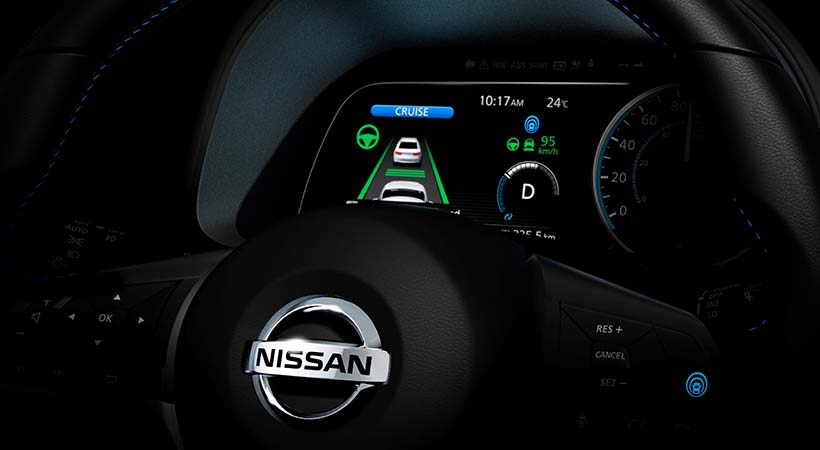 Nissan Leaf con ProPilot