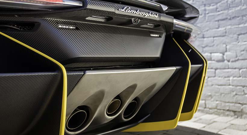Primer Lamborghini Centenario Roadster