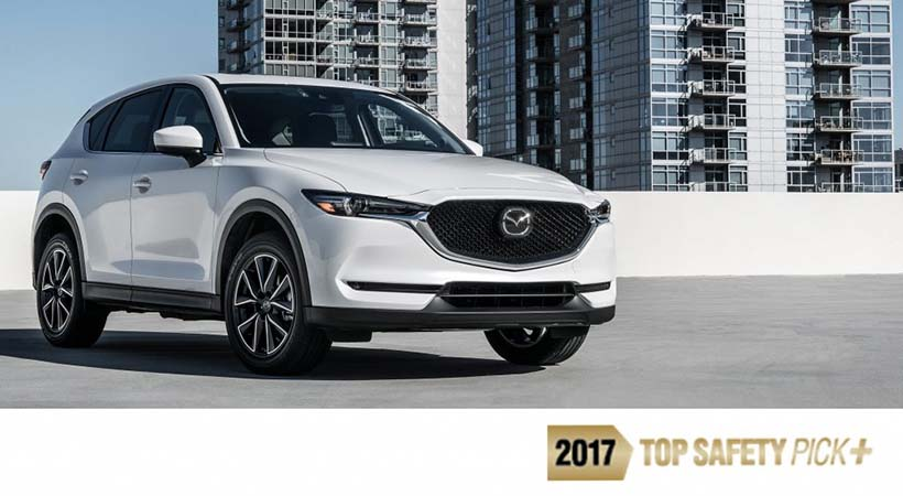 Mazda CX-5 2017 TOP SAFETY PICK+