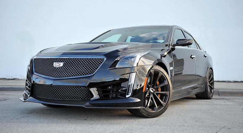 Test Drive Cadillac CTS V 2017