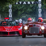 70 Aniversario Ferrari en el Goodwood Festival of Speed