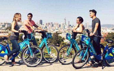 Ford GoBike, San Francisco, bicicletas, movilidad sustentable