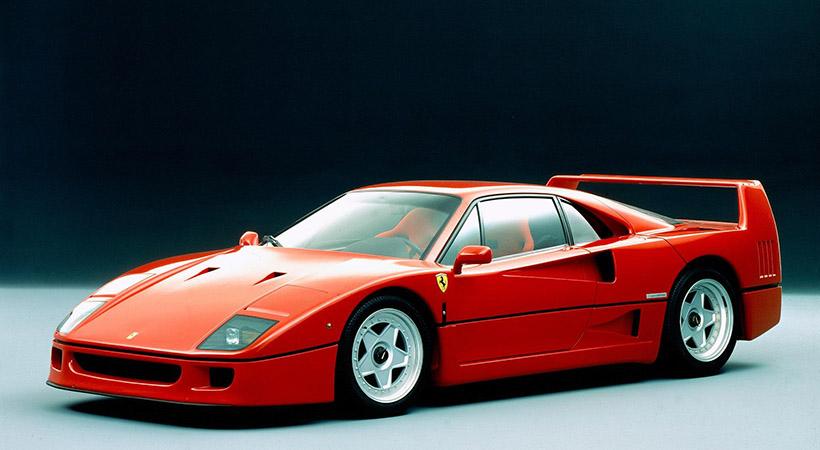 Ferrari F40 celebra su 30 aniversario
