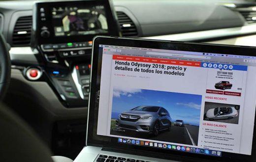 Honda Odyssey Elite 2018 con Wi-Fi 4G LTE