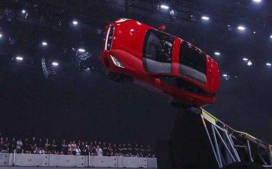 Jaguar E-Pace, Guinness World Récord, Furthest Barrel Roll, Terry Grant