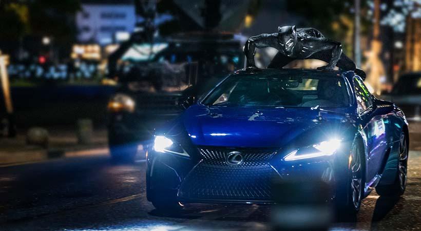 Lexus LC 500 2018 Black Panther
