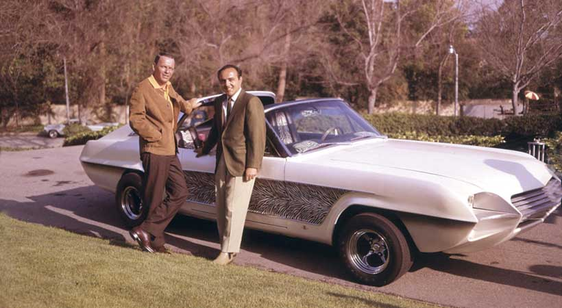 Mustang Zebra, Ford Mustang 1965, George Barris, Frank Sinatra