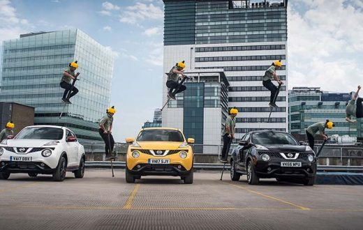 Nissan JukeCam para una aventura en video de 360º