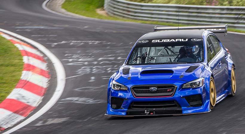Subaru STI WRX Type RA NBR Special