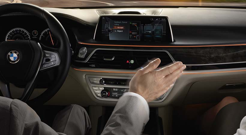 Top 10 tecnologías de punta del BMW Serie 7 2017