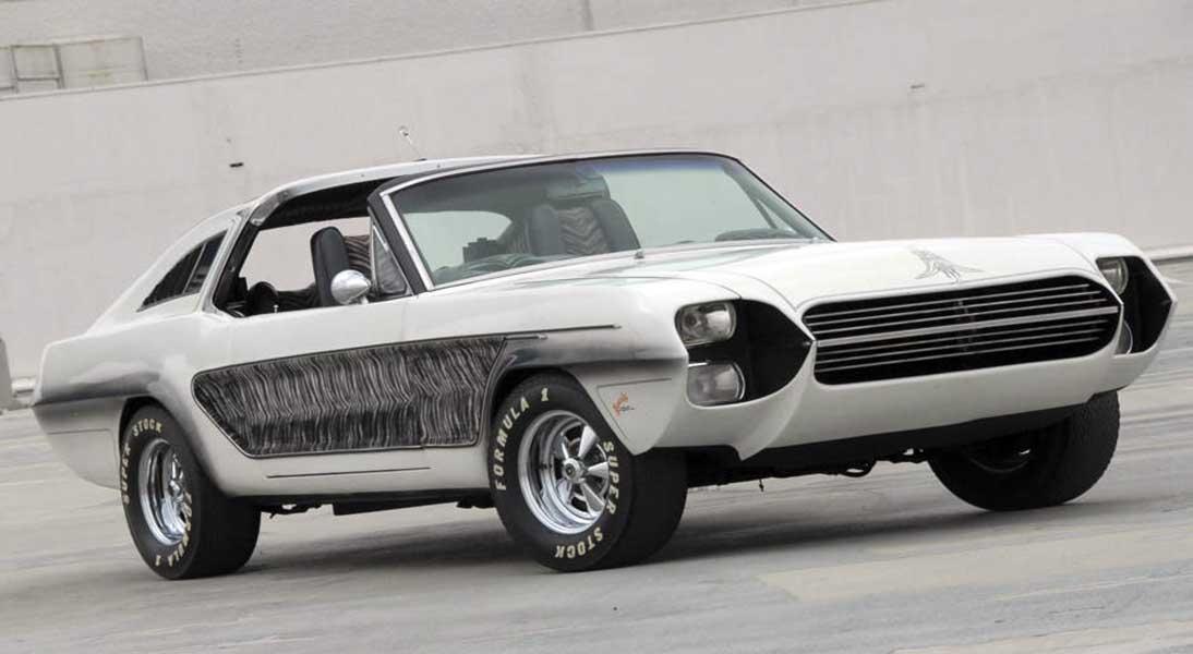 Mustang Zebra, Ford Mustang 1965, George Barris, Frank Sinatra
