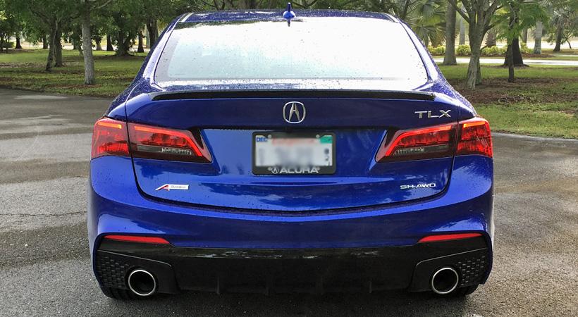 Test Drive Acura TLX 3.5L SH-AWD A-Spec 2018