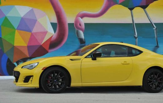 Test Drive Subaru BRZ Series.Yellow Special Edition 2017