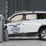 Volkswagen Atlas máxima calificación de seguridad IIHS