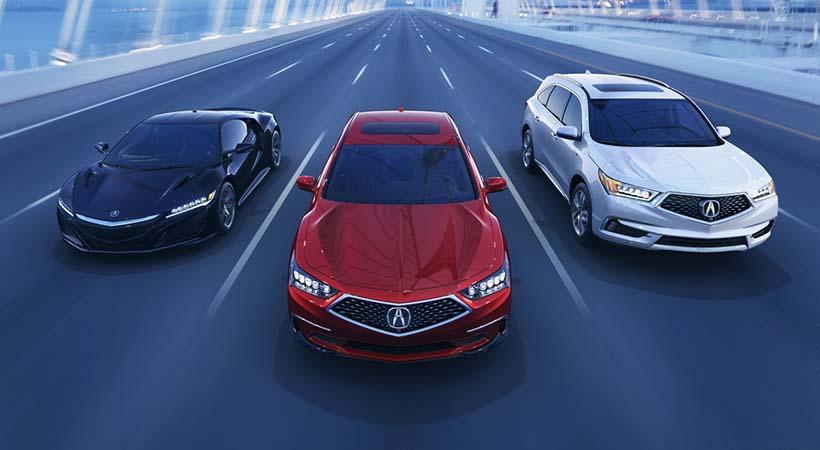 Debut Acura RLX 2018