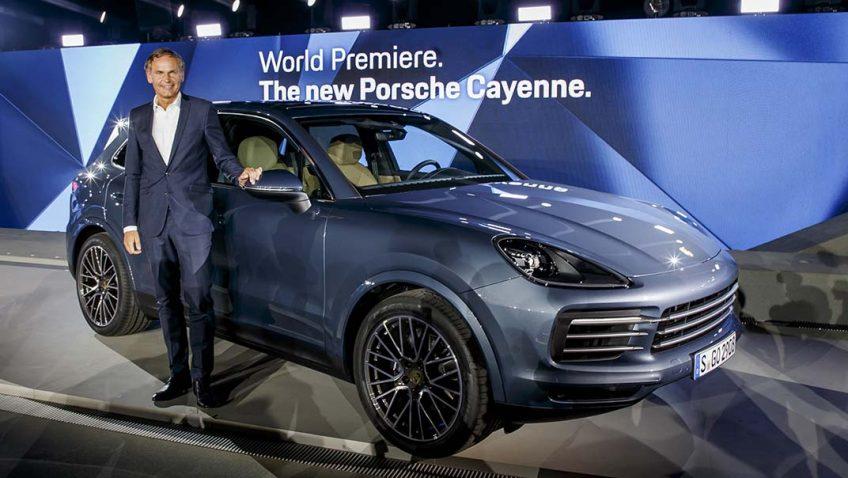 Debut Mundial Porsche Cayenne