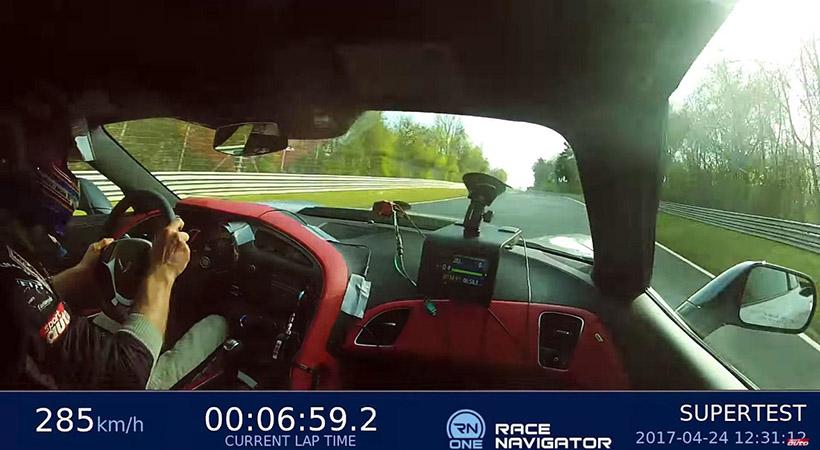 El Corvette más rápido en el Nürburgring