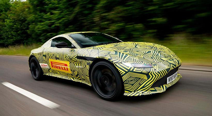 Primeras imágenes del Aston Martin Vantage