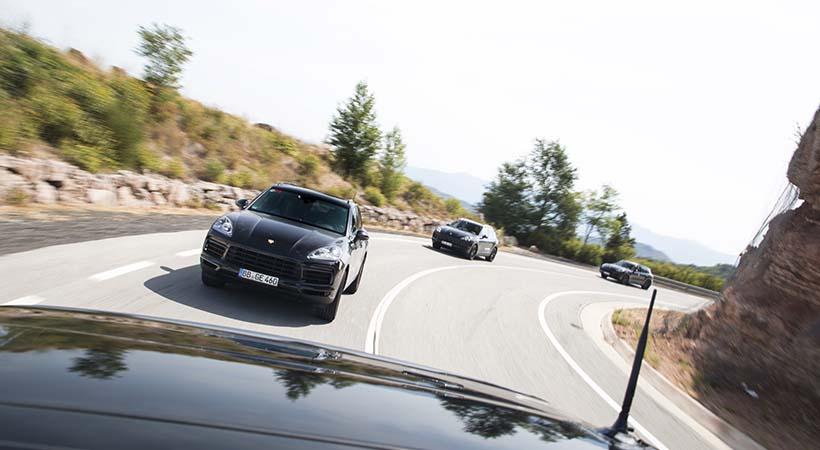 Test Drive Porsche Cayenne 2018